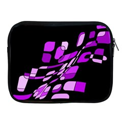 Purple Decorative Abstraction Apple Ipad 2/3/4 Zipper Cases by Valentinaart