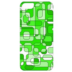Green Decorative Abstraction  Apple Iphone 5 Classic Hardshell Case by Valentinaart