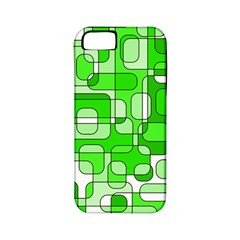 Green Decorative Abstraction  Apple Iphone 5 Classic Hardshell Case (pc+silicone) by Valentinaart