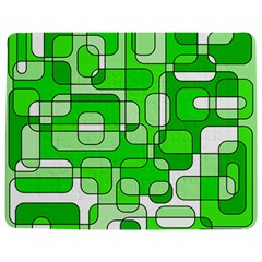 Green decorative abstraction  Jigsaw Puzzle Photo Stand (Rectangular) by Valentinaart