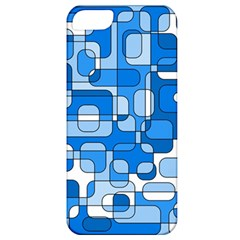 Blue Decorative Abstraction Apple Iphone 5 Classic Hardshell Case by Valentinaart