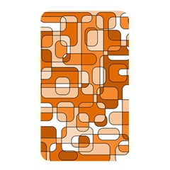 Orange Decorative Abstraction Memory Card Reader by Valentinaart