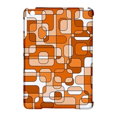 Orange Decorative Abstraction Apple Ipad Mini Hardshell Case (compatible With Smart Cover) by Valentinaart