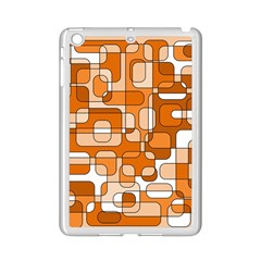 Orange Decorative Abstraction Ipad Mini 2 Enamel Coated Cases by Valentinaart