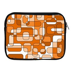 Orange Decorative Abstraction Apple Ipad 2/3/4 Zipper Cases by Valentinaart