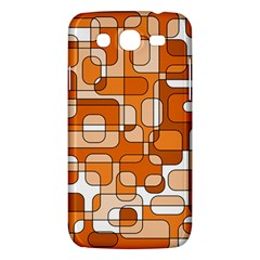 Orange Decorative Abstraction Samsung Galaxy Mega 5 8 I9152 Hardshell Case  by Valentinaart