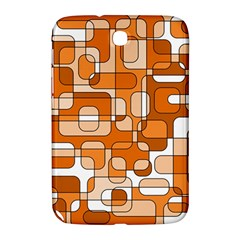 Orange Decorative Abstraction Samsung Galaxy Note 8 0 N5100 Hardshell Case  by Valentinaart