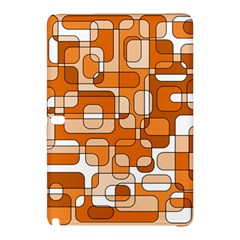 Orange Decorative Abstraction Samsung Galaxy Tab Pro 10 1 Hardshell Case by Valentinaart