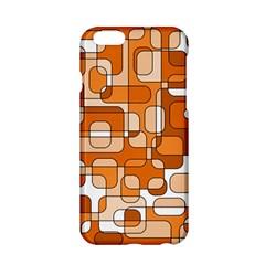 Orange Decorative Abstraction Apple Iphone 6/6s Hardshell Case by Valentinaart