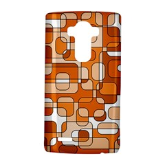 Orange Decorative Abstraction Lg G4 Hardshell Case by Valentinaart