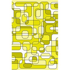Yellow Decorative Abstraction 5 5  X 8 5  Notebooks by Valentinaart