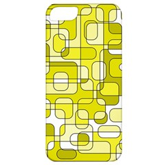 Yellow Decorative Abstraction Apple Iphone 5 Classic Hardshell Case by Valentinaart