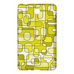 Yellow Decorative Abstraction Samsung Galaxy Tab 4 (7 ) Hardshell Case  by Valentinaart