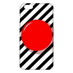 Red Ball Iphone 6 Plus/6s Plus Tpu Case by Valentinaart