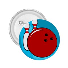 Bowling  2 25  Buttons by Valentinaart