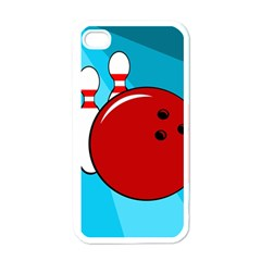 Bowling  Apple Iphone 4 Case (white) by Valentinaart