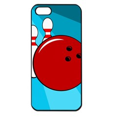 Bowling  Apple Iphone 5 Seamless Case (black) by Valentinaart