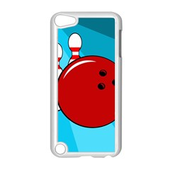 Bowling  Apple Ipod Touch 5 Case (white) by Valentinaart