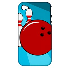 Bowling  Apple Iphone 4/4s Hardshell Case (pc+silicone) by Valentinaart