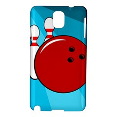 Bowling  Samsung Galaxy Note 3 N9005 Hardshell Case by Valentinaart