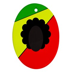 Jamaica Ornament (oval)  by Valentinaart