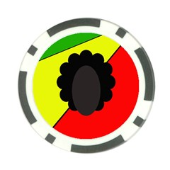 Jamaica Poker Chip Card Guards by Valentinaart