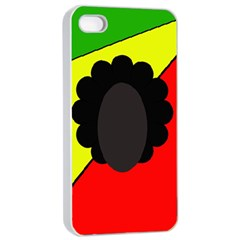 Jamaica Apple Iphone 4/4s Seamless Case (white) by Valentinaart