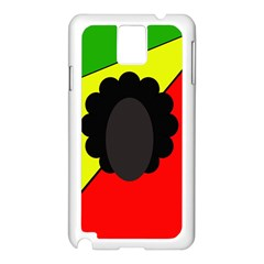 Jamaica Samsung Galaxy Note 3 N9005 Case (White) by Valentinaart