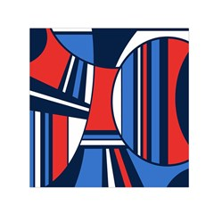 Abstract Nautical Small Satin Scarf (square) by olgart