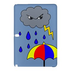 Rainy Day Samsung Galaxy Tab Pro 10 1 Hardshell Case by Valentinaart