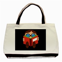 Brainiac  Basic Tote Bag (two Sides) by Valentinaart