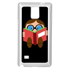 Brainiac  Samsung Galaxy Note 4 Case (white) by Valentinaart