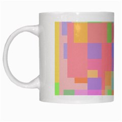 Pastel Decorative Design White Mugs by Valentinaart
