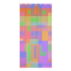Pastel Decorative Design Shower Curtain 36  X 72  (stall)  by Valentinaart