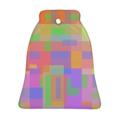 Pastel Decorative Design Bell Ornament (2 Sides) by Valentinaart