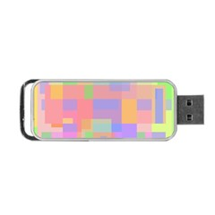 Pastel Decorative Design Portable Usb Flash (two Sides) by Valentinaart