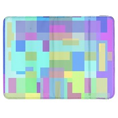 Pastel Geometrical Desing Samsung Galaxy Tab 7  P1000 Flip Case by Valentinaart