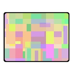 Pastel Colorful Design Fleece Blanket (small) by Valentinaart