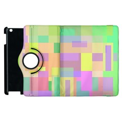 Pastel Colorful Design Apple Ipad 3/4 Flip 360 Case by Valentinaart