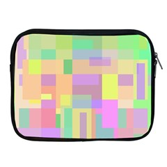 Pastel Colorful Design Apple Ipad 2/3/4 Zipper Cases by Valentinaart