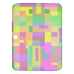 Pastel Colorful Design Samsung Galaxy Tab 3 (10 1 ) P5200 Hardshell Case  by Valentinaart