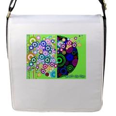 Pizap Com14413122385551 Flap Messenger Bag (s)