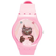 Gamergirl3 Plastic Sport Watch (medium) by kaoruhasegawa