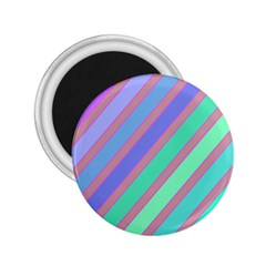 Pastel Colorful Lines 2 25  Magnets by Valentinaart