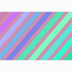 Pastel Colorful Lines Collage Prints by Valentinaart