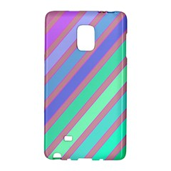 Pastel Colorful Lines Galaxy Note Edge by Valentinaart