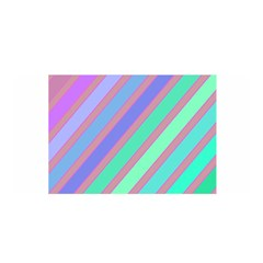 Pastel Colorful Lines Satin Wrap by Valentinaart
