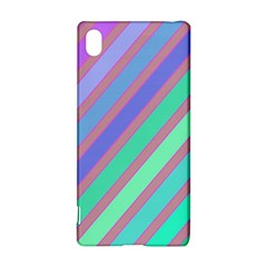 Pastel Colorful Lines Sony Xperia Z3+ by Valentinaart