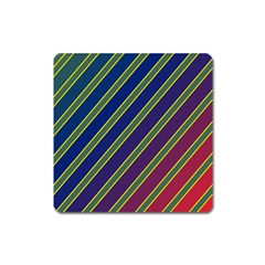 Decorative Lines Square Magnet by Valentinaart