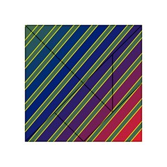 Decorative Lines Acrylic Tangram Puzzle (4  X 4 ) by Valentinaart